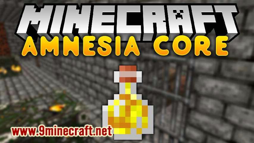 Amnesia Core mod for minecraft logo