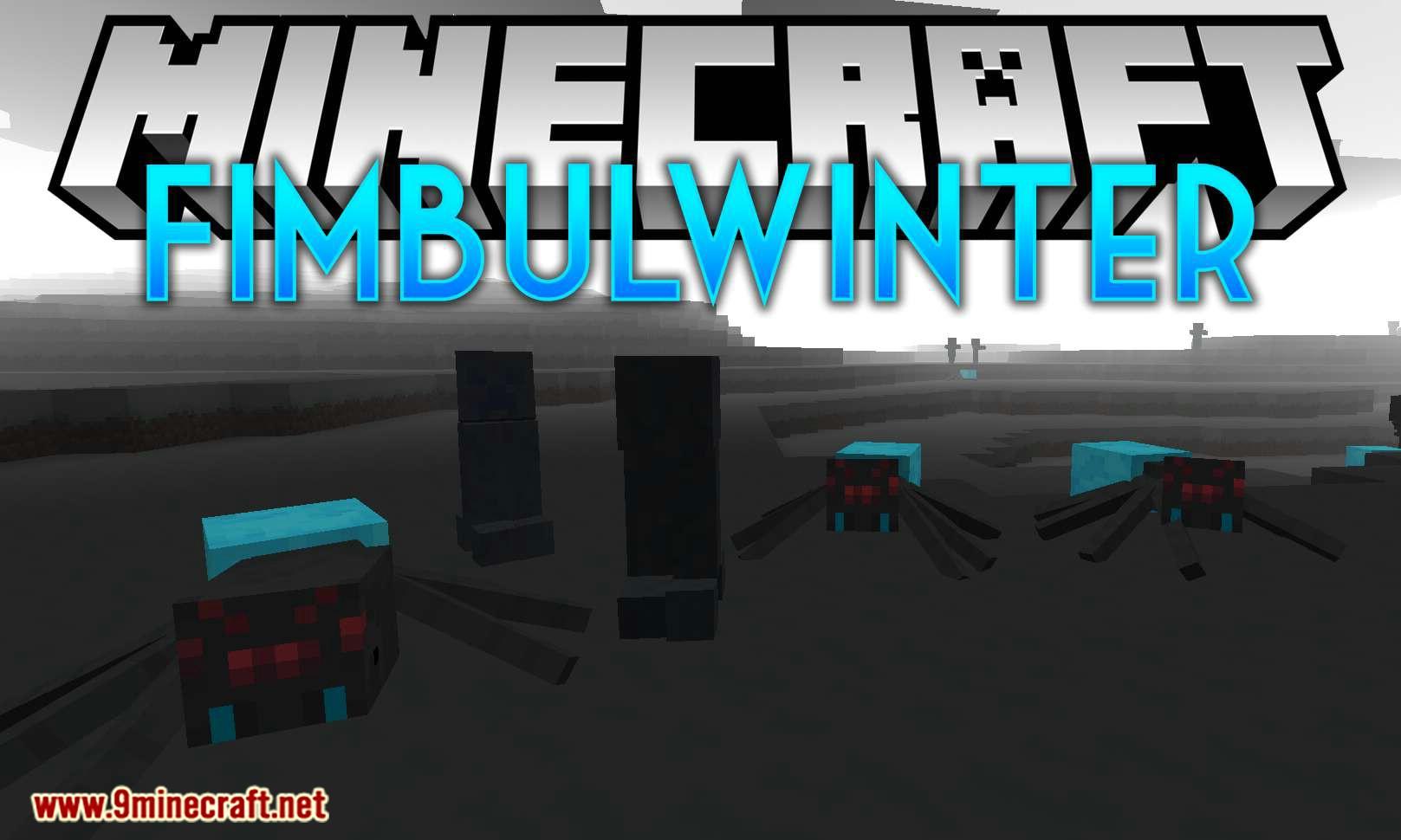Fimbulwinter mod for minecraft logo