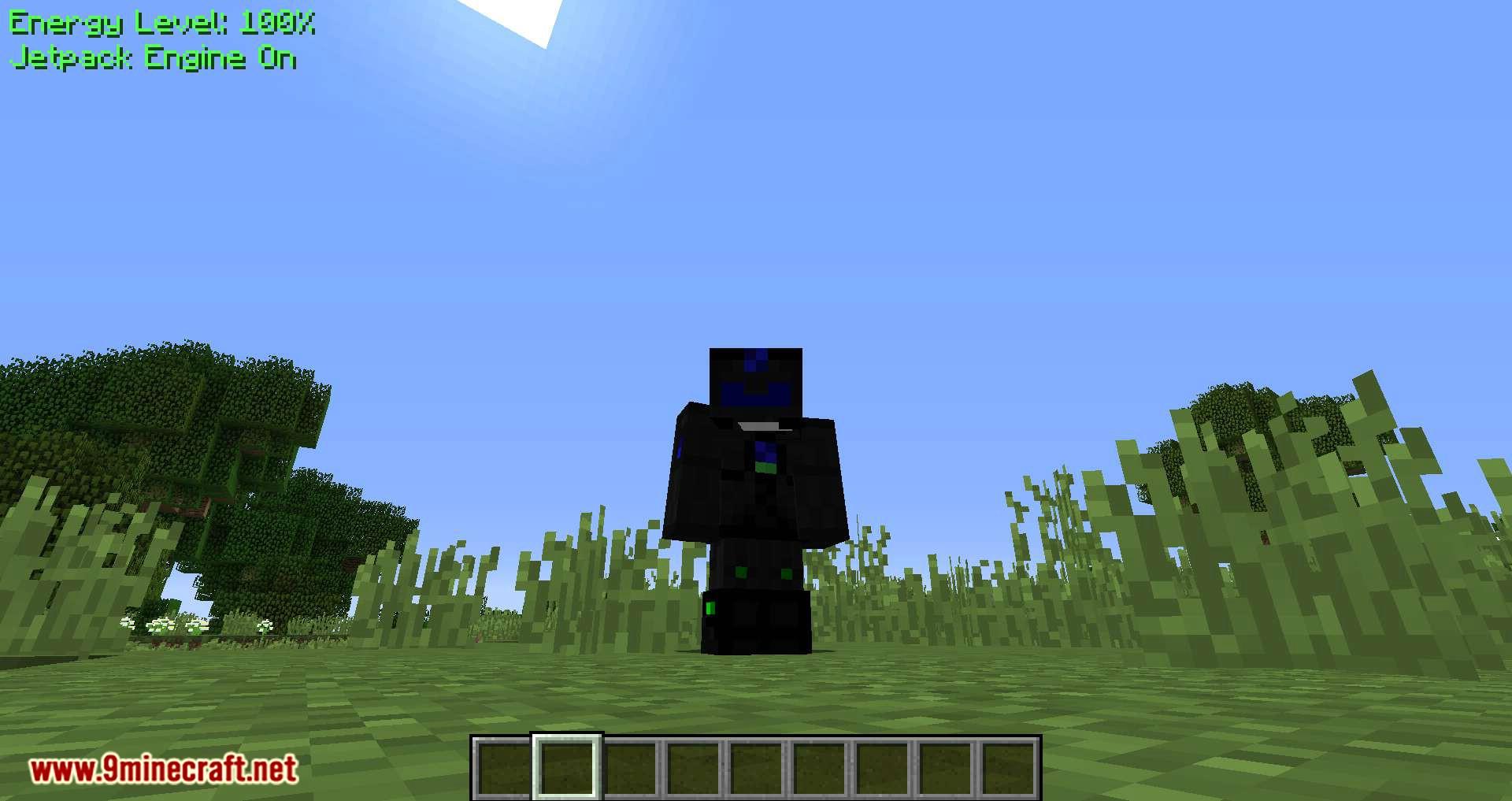 Gravisuit Classic mod for minecraft 05