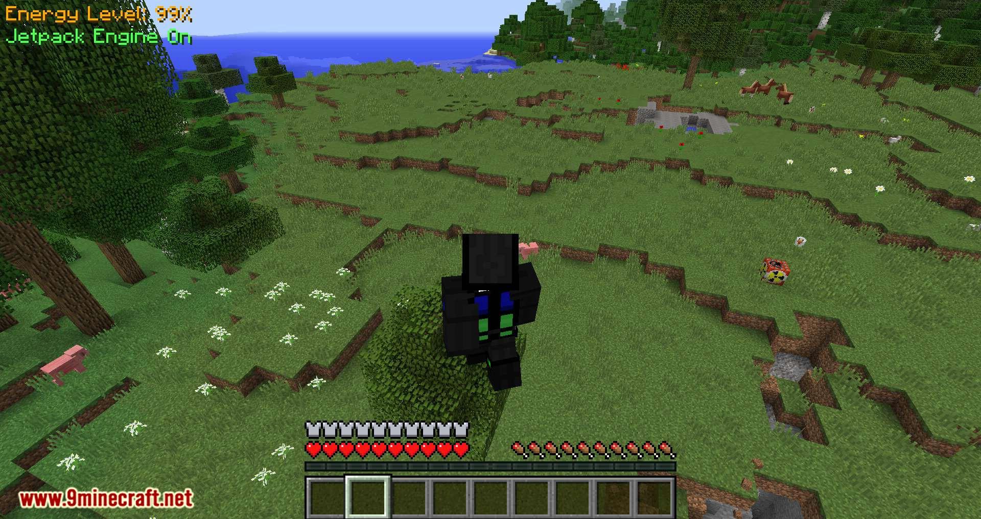 Gravisuit Classic mod for minecraft 06