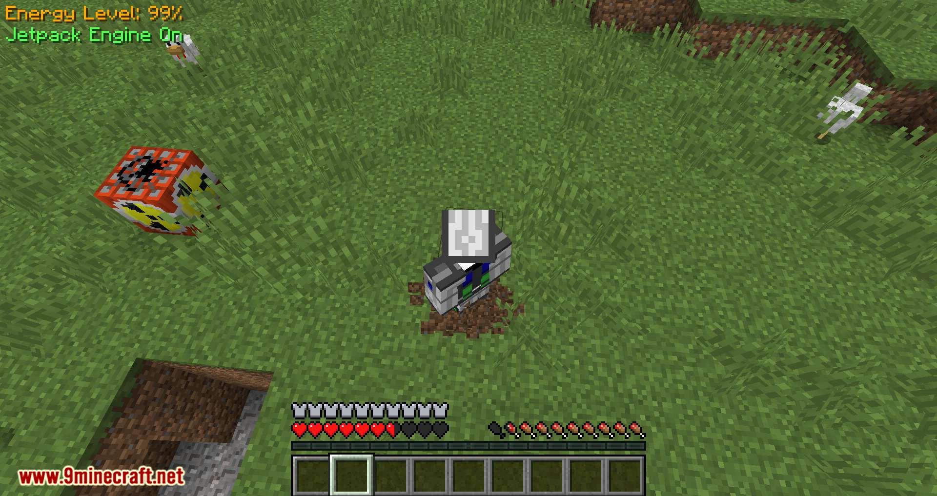 Gravisuit Classic mod for minecraft 09