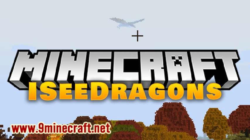 ISeeDragons mod for minecraft logo