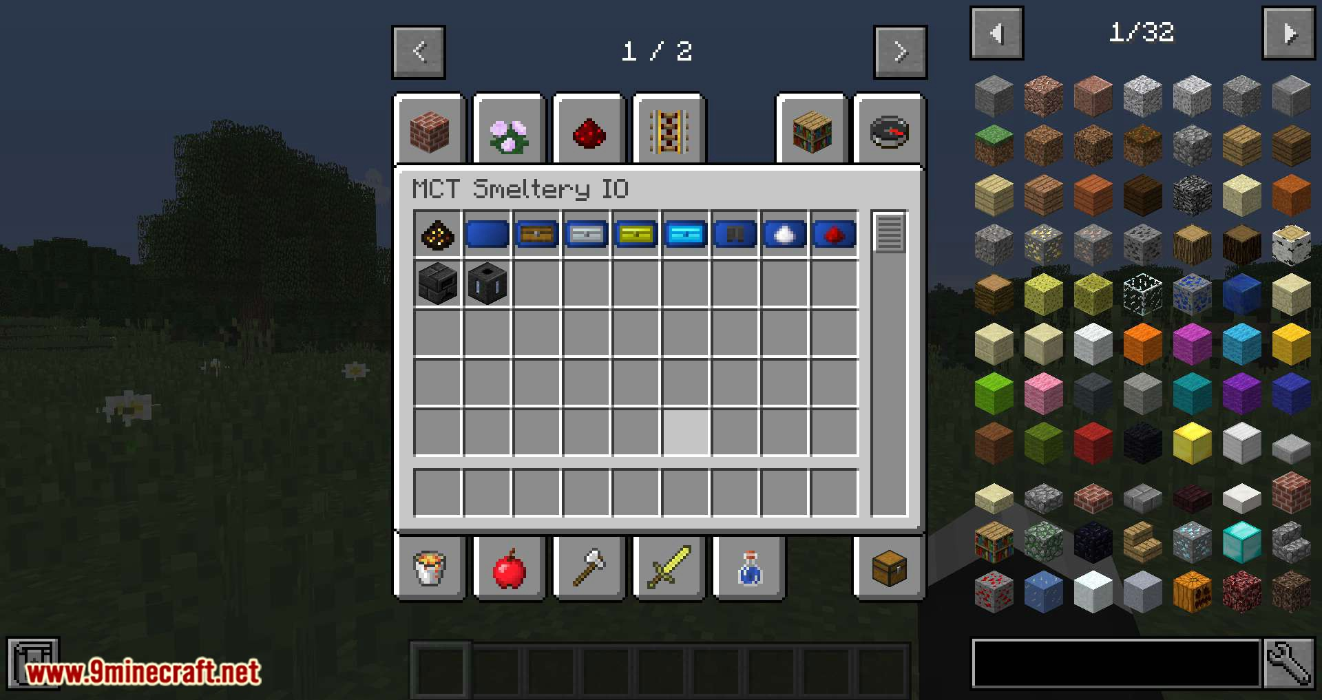MCT Smeltery IO mod for minecraft 01