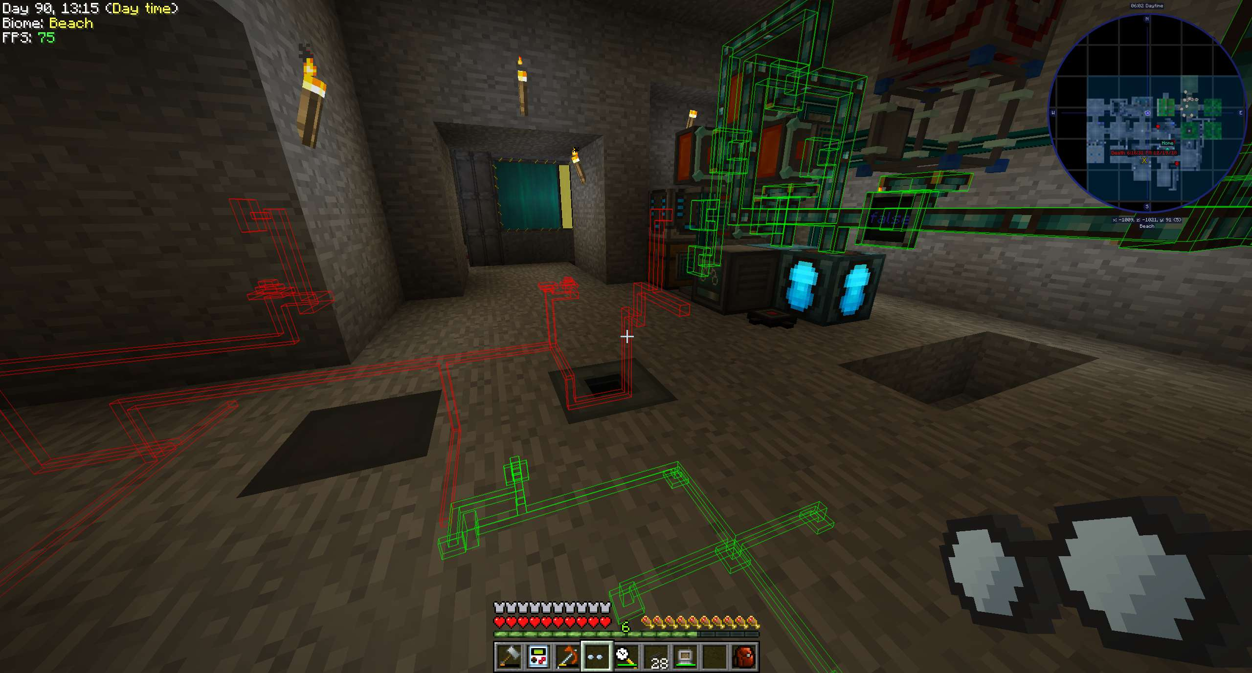 Pipe Goggles mod for minecraft 21