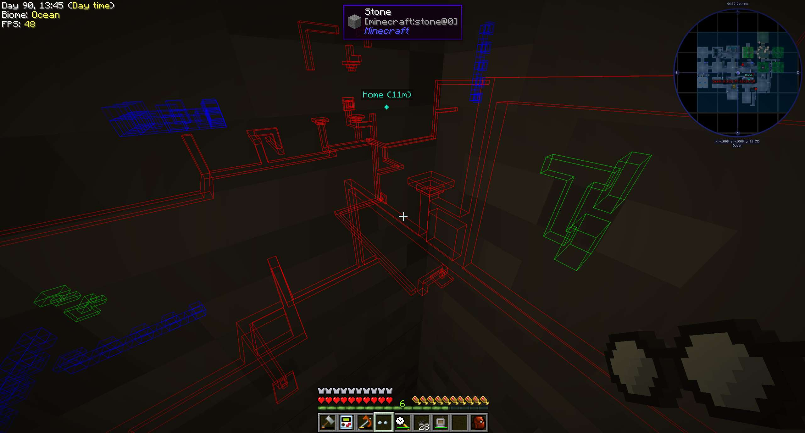 Pipe Goggles mod for minecraft 22