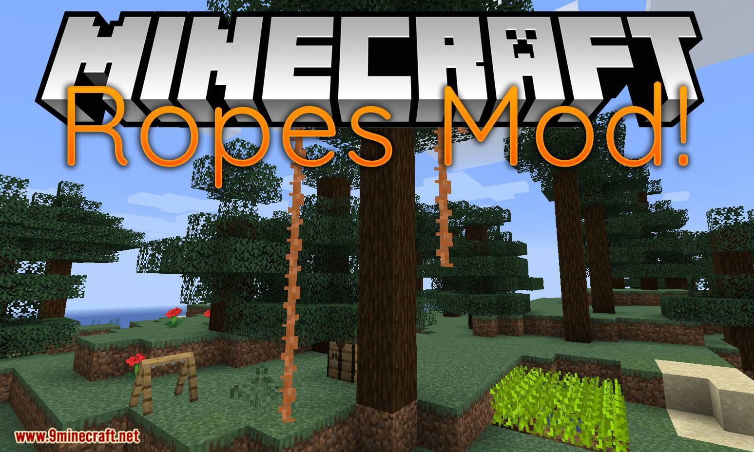 Ropes Mod for minecraft logo