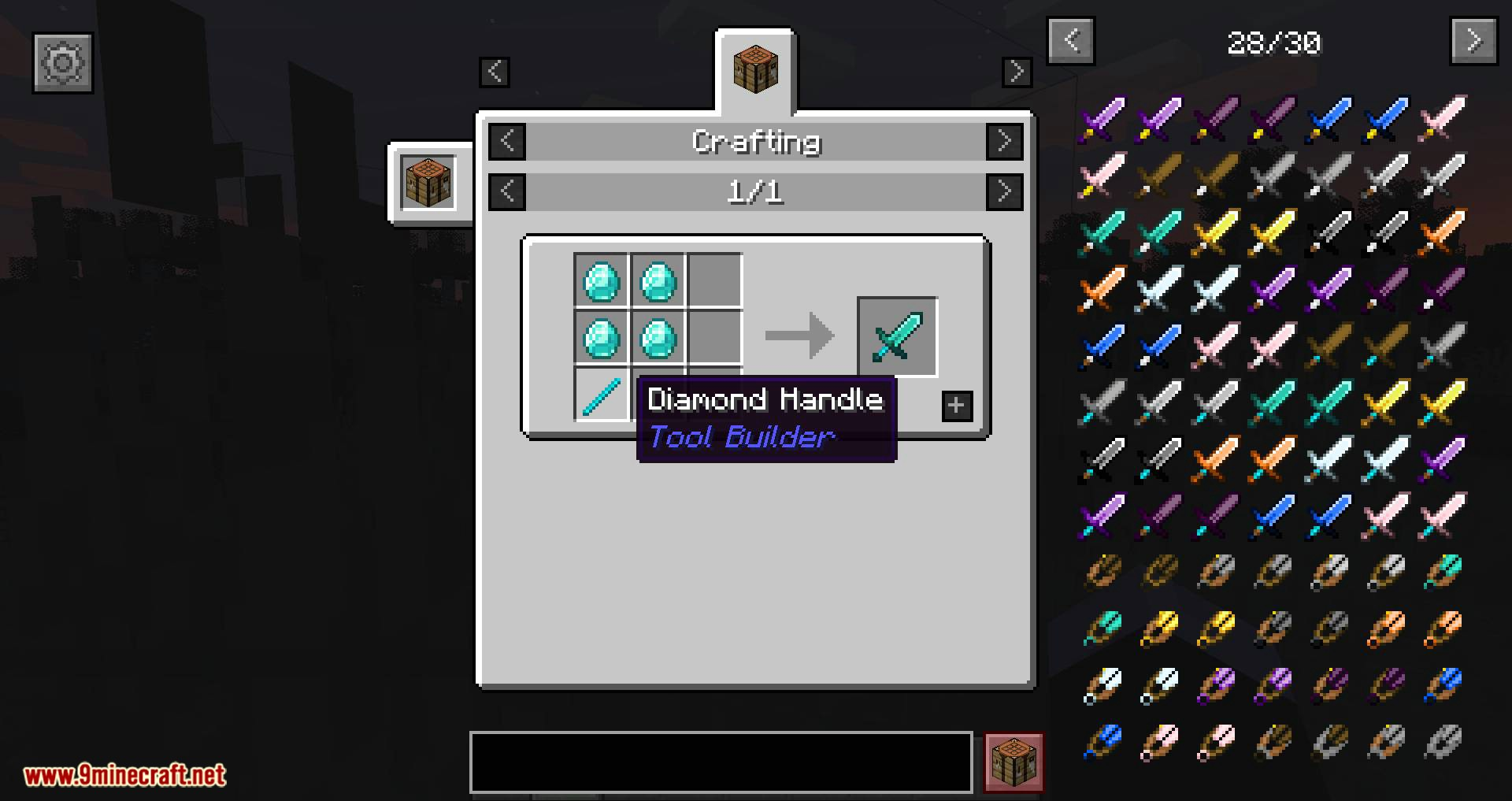 Tool Builder mod for minecraft 02