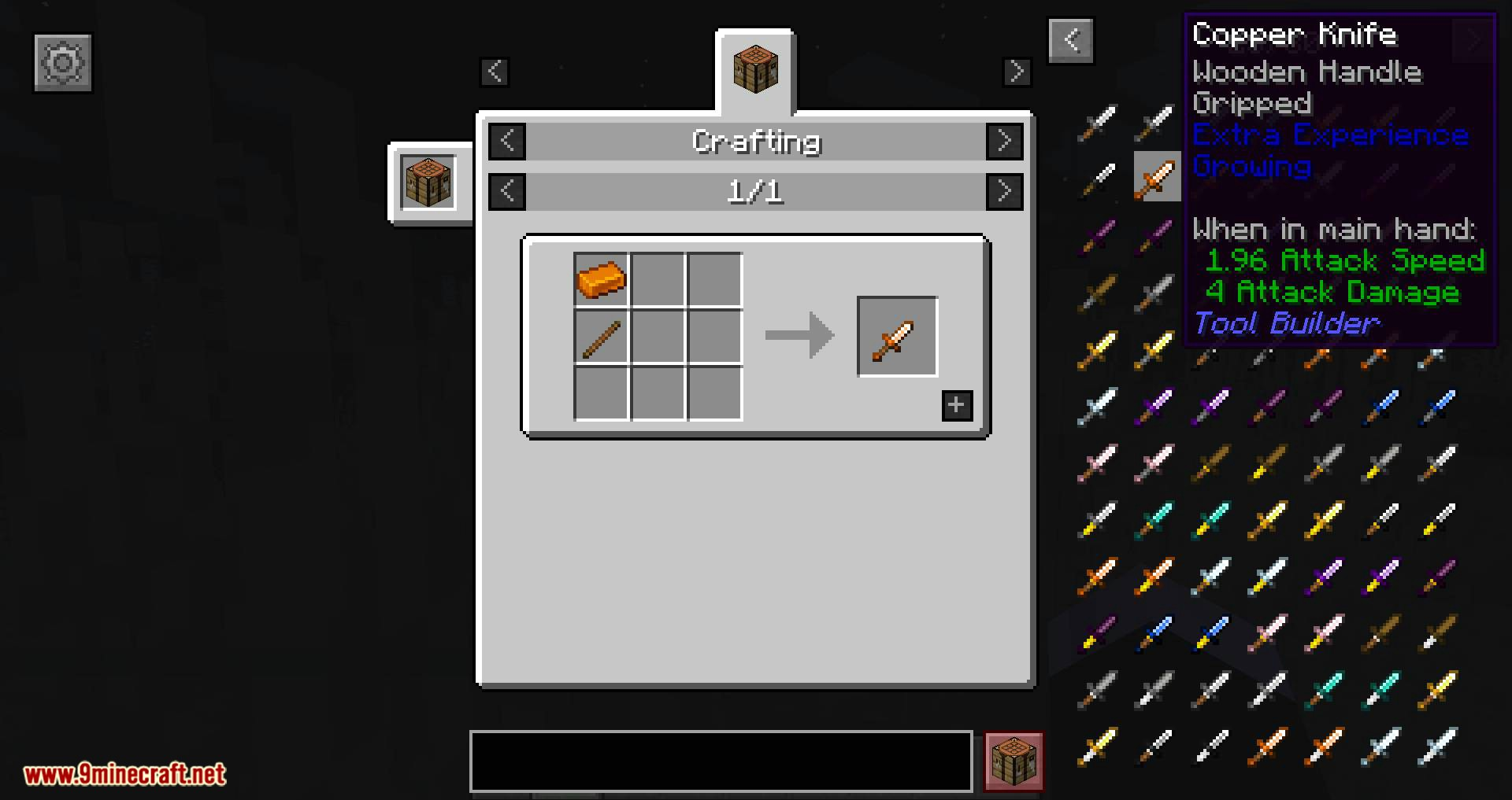 Tool Builder mod for minecraft 09
