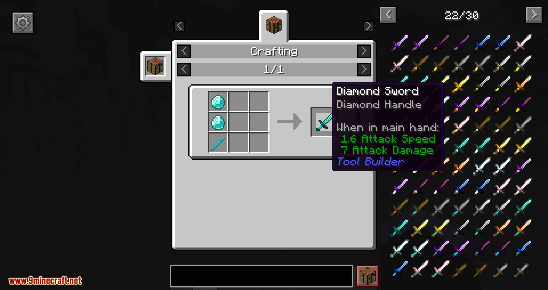 Tool Builder mod for minecraft 10