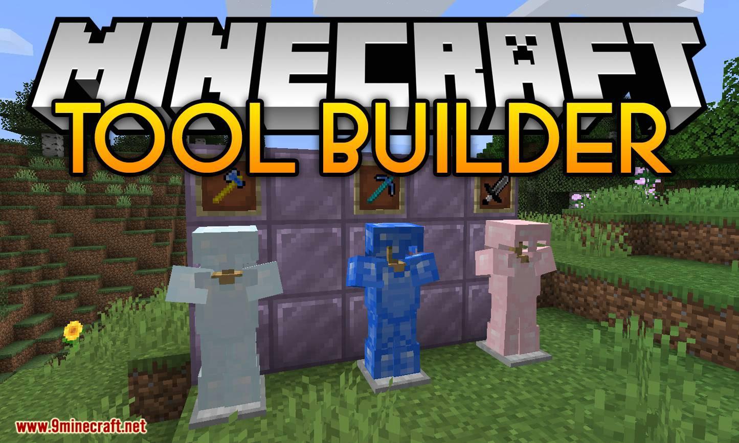 Tool Builder mod for minecraft logo
