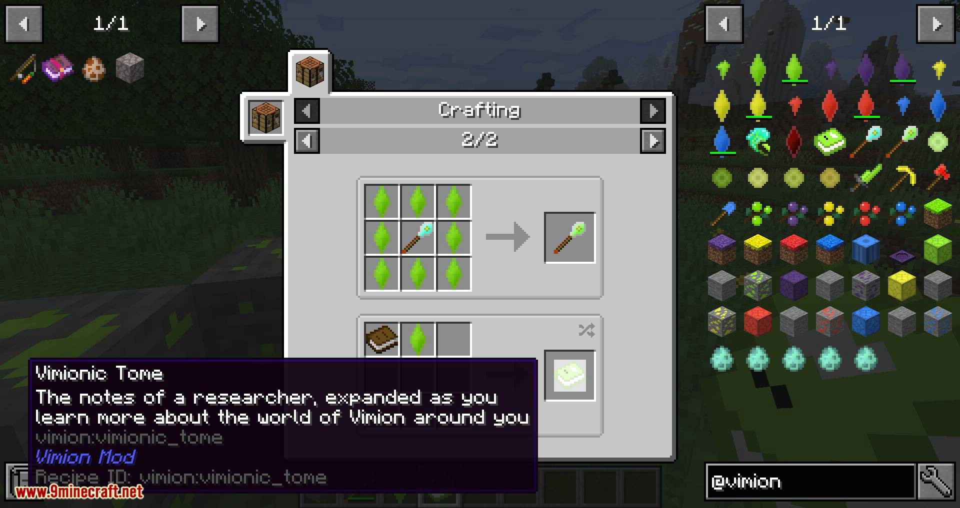 Vimion Mod for minecraft 10