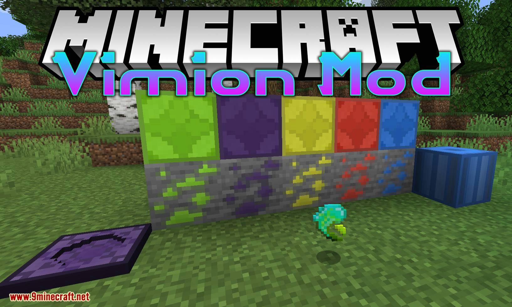 Vimion Mod for minecraft logo